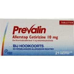 Prevalin Allerstop UAD (21 tabletten)