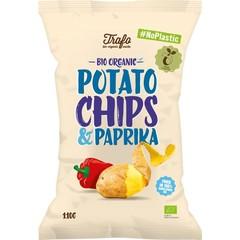Trafo Chips paprika no plastic (110 gram)