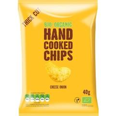 Trafo Chips handcooked kaas & ui (40 gram)