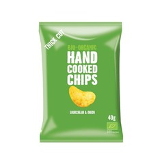 Trafo Chips handcooked sour cream & onion (40 gram)