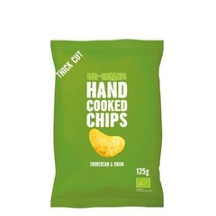 Trafo Chips handcooked sour cream & onion (125 gram)