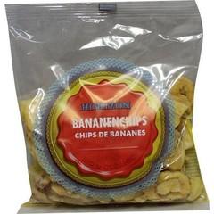 Horizon Bananen chips eko (125 gram)