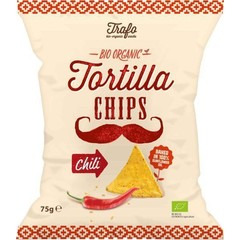 Trafo Tortilla chips chili (75 gram)