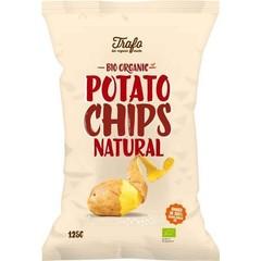 Trafo Chips gezouten (125 gram)