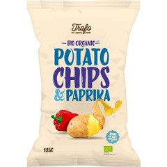 Trafo Chips paprika (125 gram)