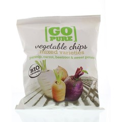 Go Pure Chips groente (90 gram)