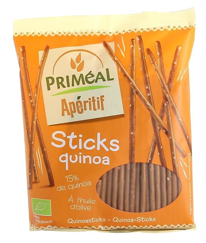 Primeal Primeal Aperitive quinoa sticks (100 gram)
