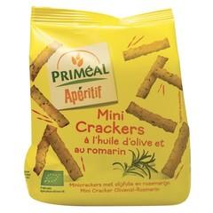 Primeal Aperitive mini crackers olijfolie en rozemarijn (100 gram)