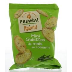 Primeal Aperitive mini maiscrackers olijfolie rozemarijn (50 gram)