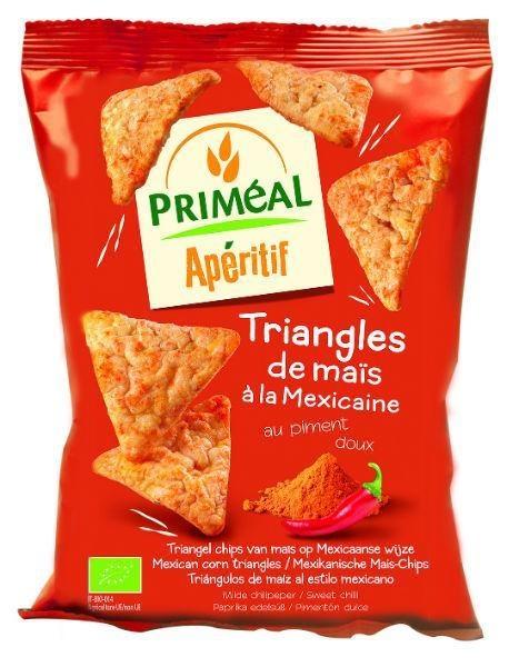Primeal Primeal Aperitive mais driehoek Mexicaans (50 gram)