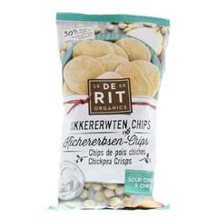 De Rit Kikkererwtenchips sour cream union (75 gram)