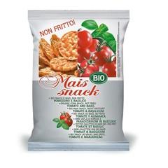 Bio Alimenti Mais snack tomaat & basilicum (50 gram)