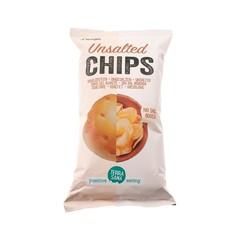 Terrasana Chips pomm zonder zout (125 gram)
