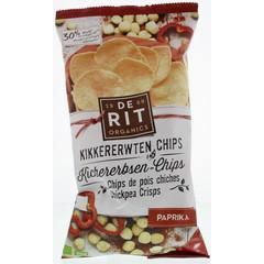 De Rit Kikkererwtenchips paprika (75 gram)
