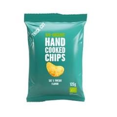 Trafo Chips handcooked salt & vineger (125 gram)