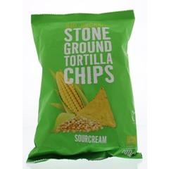 Trafo Chips tortilla sourcream (100 gram)