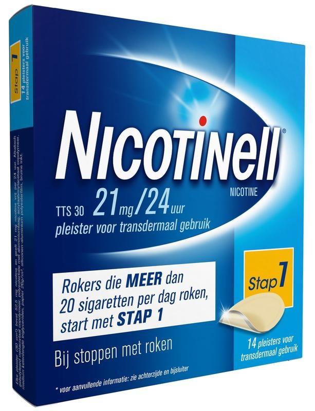 Nicotinell Nicotinell TTS30 21 mg (14 stuks)