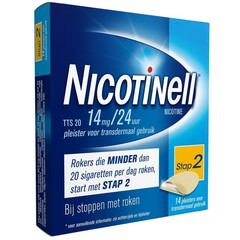 Nicotinell TTS20 14 mg (14 stuks)