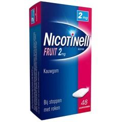 Nicotinell Kauwgom fruit 2 mg (48 stuks)