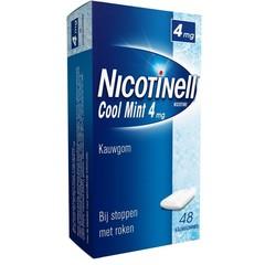Nicotinell Kauwgom cool mint 4 mg (48 stuks)