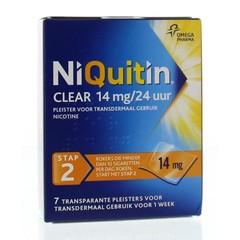 Niquitin Stap 2 14 mg (7 stuks)