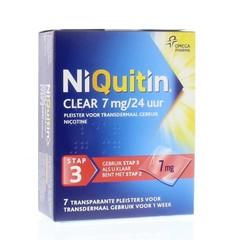 Niquitin Stap 3 7 mg (7 stuks)