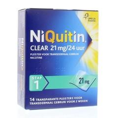 Niquitin Stap 1 21 mg (14 stuks)