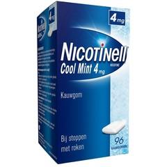 Nicotinell Kauwgom cool mint 4 mg (96 stuks)