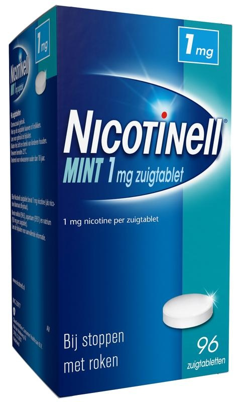Nicotinell Nicotinell Mint 1 mg (96 zuigtabletten)