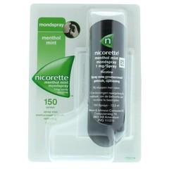 Nicorette Menthol mint mondspray (13.2 ml)