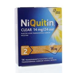 Niquitin Stap 2 14 mg (14 stuks)