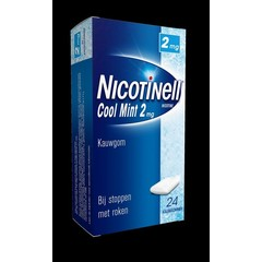 Nicotinell Kauwgom 2 mg (24 stuks)