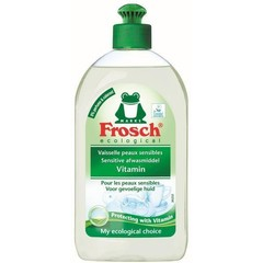 Frosch Afwasmiddel vitaminen sensitive (500 ml)