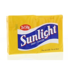 Sunlight Huishoudzeep 2 x 150 gram (1 stuks)