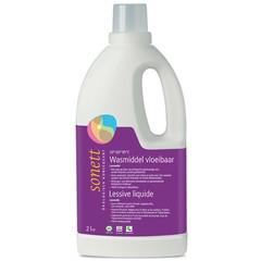 Sonett Wasmiddel vloeibaar lavendel (2 liter)