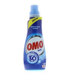 OMO Wasmiddel vloeibaar wit 21 scoops (735 ml)