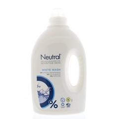 Neutral Wasmiddel vloeibaar hoofdwas wit (1 liter)