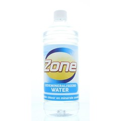 Zone Gedemineraliseerd water (1 liter)