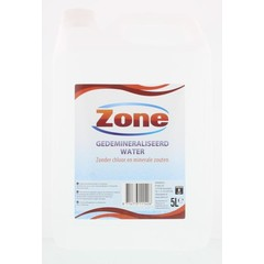 Zone Gedemineraliseerd water (5 liter)