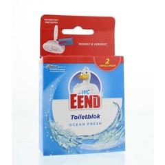 WC Eend Blok ocean fresh navul 40 gram (2 stuks)
