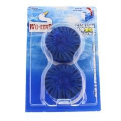 WC Eend Stortbakblok blauw duo (2 x 50 gram)