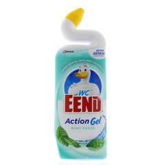 WC Eend Toiletreiniger action gel mint fresh (750 ml)