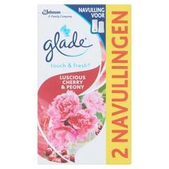 Glade BY Brise Touch & fresh navul cherry 10 ml (2 stuks)