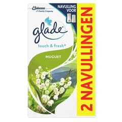 Glade BY Brise Touch & fresh navul muguet 10 ml (2 stuks)