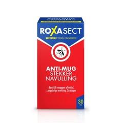 Roxasect Stekker tegen muggen navul (1 stuks)