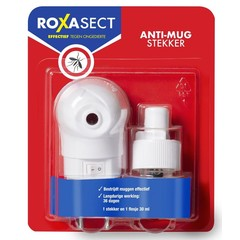 Roxasect Stekker tegen muggen op basis van prallethrin (1 stuks)