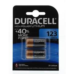 Duracell Batterij 123/2 (2 stuks)