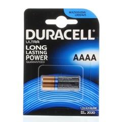 Duracell Ultra MX 2500 AAAA (2 stuks)