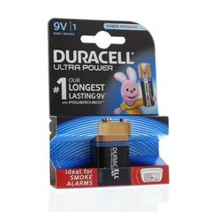 Duracell Alkaline ultra power 9V (1 stuks)