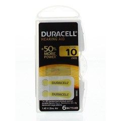 Duracell Hearing aid nummer 10 (6 stuks)